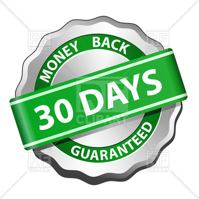 30 Days Money Back Guarantee Sign, 5736,-30 days money back guarantee sign, 5736, download royalty-free vector  vector image ClipartLook.com -2