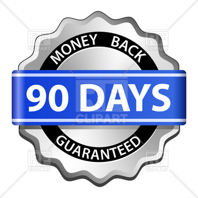 90 Days Money Back Guarantee Sign, 5820,-90 days money back guarantee sign, 5820, download royalty-free vector  vector image ClipartLook.com -5