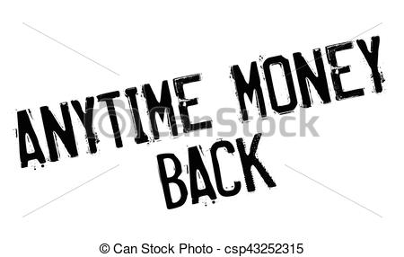 Anytime Money Back Rubber Stamp - Csp432-Anytime Money Back rubber stamp - csp43252315-6