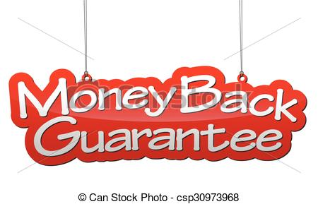 Background Money Back Guarantee - Csp309-background money back guarantee - csp30973968-7