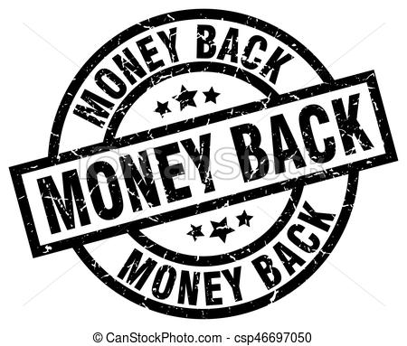 Money Back Round Grunge Black Stamp - Cs-money back round grunge black stamp - csp46697050-16