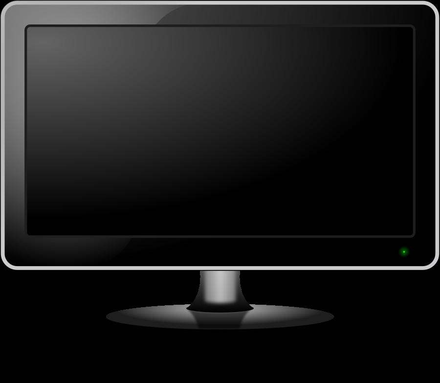 Monitor Clipart, vector clip art online, royalty free design