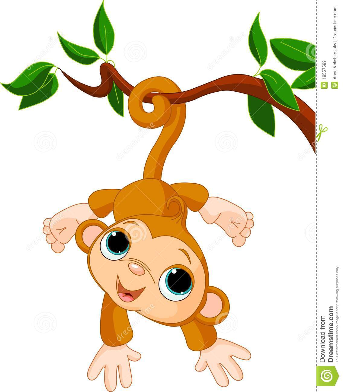 monkey in a tree clipart-monkey in a tree clipart-18