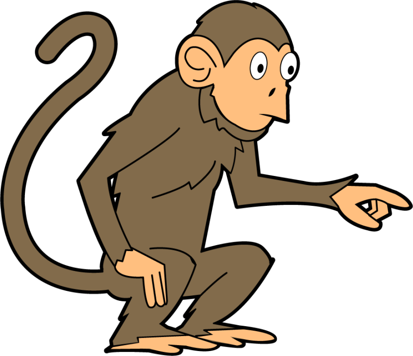 Monkey Clip Art Animals Cleanclipart-Monkey Clip Art Animals Cleanclipart-9