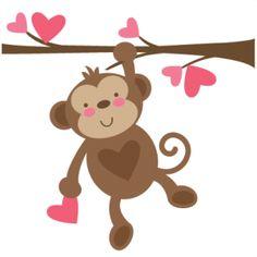 Monkey Clip Art. Cartoon Monkey; Monkey -Monkey Clip Art. Cartoon Monkey; Monkey on .-13