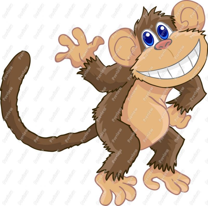 Monkey Clip Art-Monkey Clip Art-17