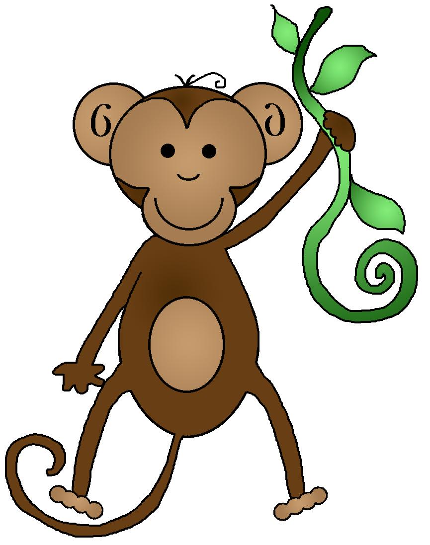 Monkey Clip Art-Monkey Clip Art-0