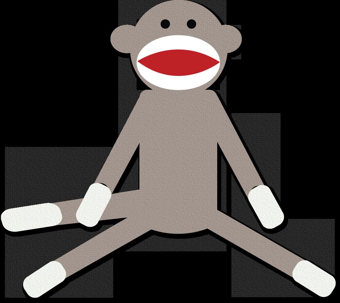 Monkey Clipart Cute Monkey Clipart Schylling Sock Monkey Clipart Sock