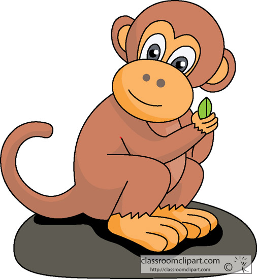 Monkey Clipart Monkey Cartoon 112 Classr-Monkey Clipart Monkey Cartoon 112 Classroom Clipart-12