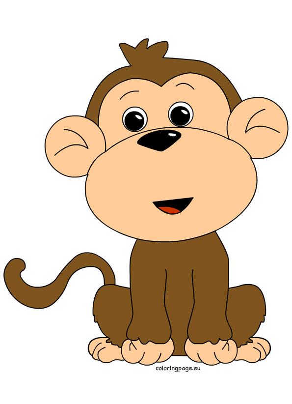 Monkey clipart-Monkey clipart-5