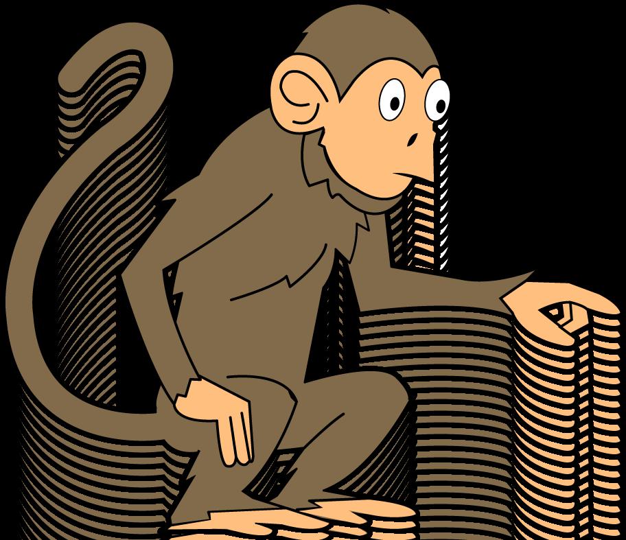 Monkey Clipart-monkey clipart-16