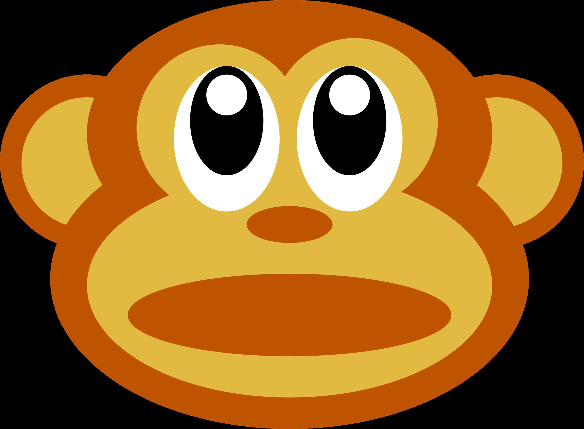 Monkey Face Clipart #1. BIG I - Monkey Face Clip Art