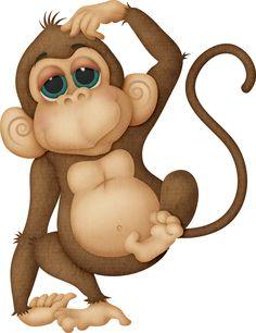 Monkey. Free Gorilla Clip Art .-Monkey. Free Gorilla Clip Art .-17