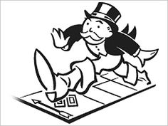 Monopoly Game Night Clipart. Monopoly
