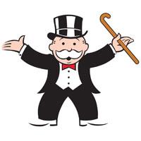 Monopoly Shoe Piece Clipart #1