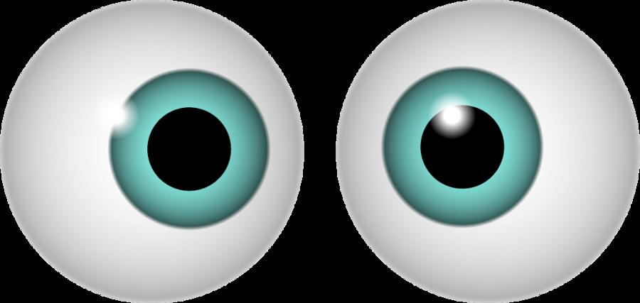 monster eyeball clipart