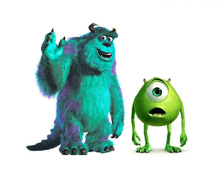 monster inc clipart - Monsters Inc Clip