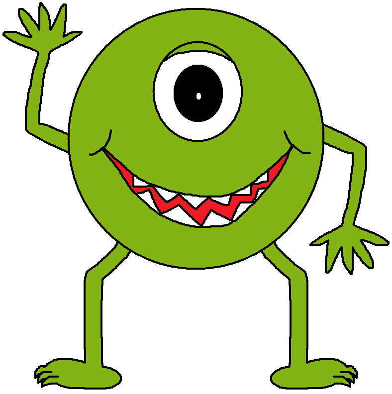 Monster clip art cartoon free clipart images