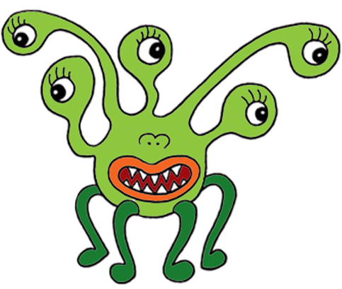 Monster Clip Art-Monster Clip Art-16