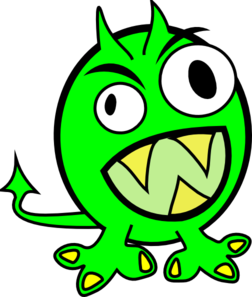 Monster Clip Art-Monster Clip Art-19