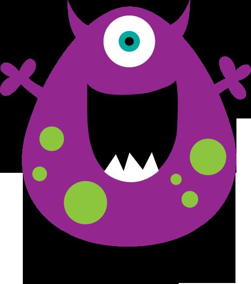 Monster clipart 0