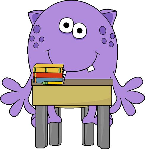 Monster in School