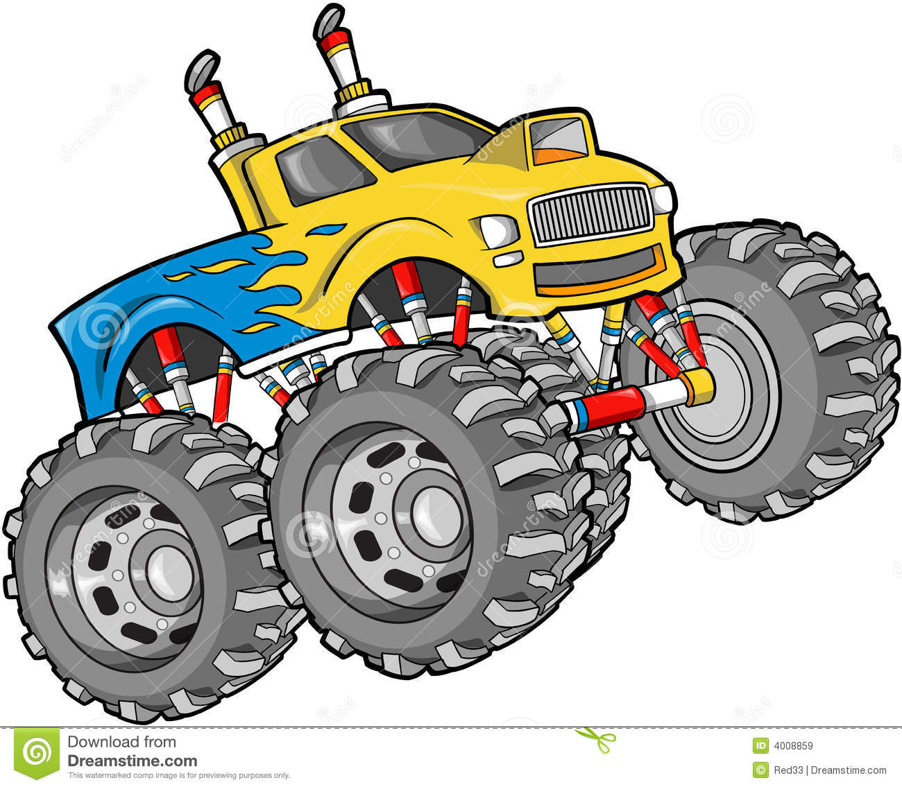 Monster Truck Clip Art-Monster Truck Clip Art-2