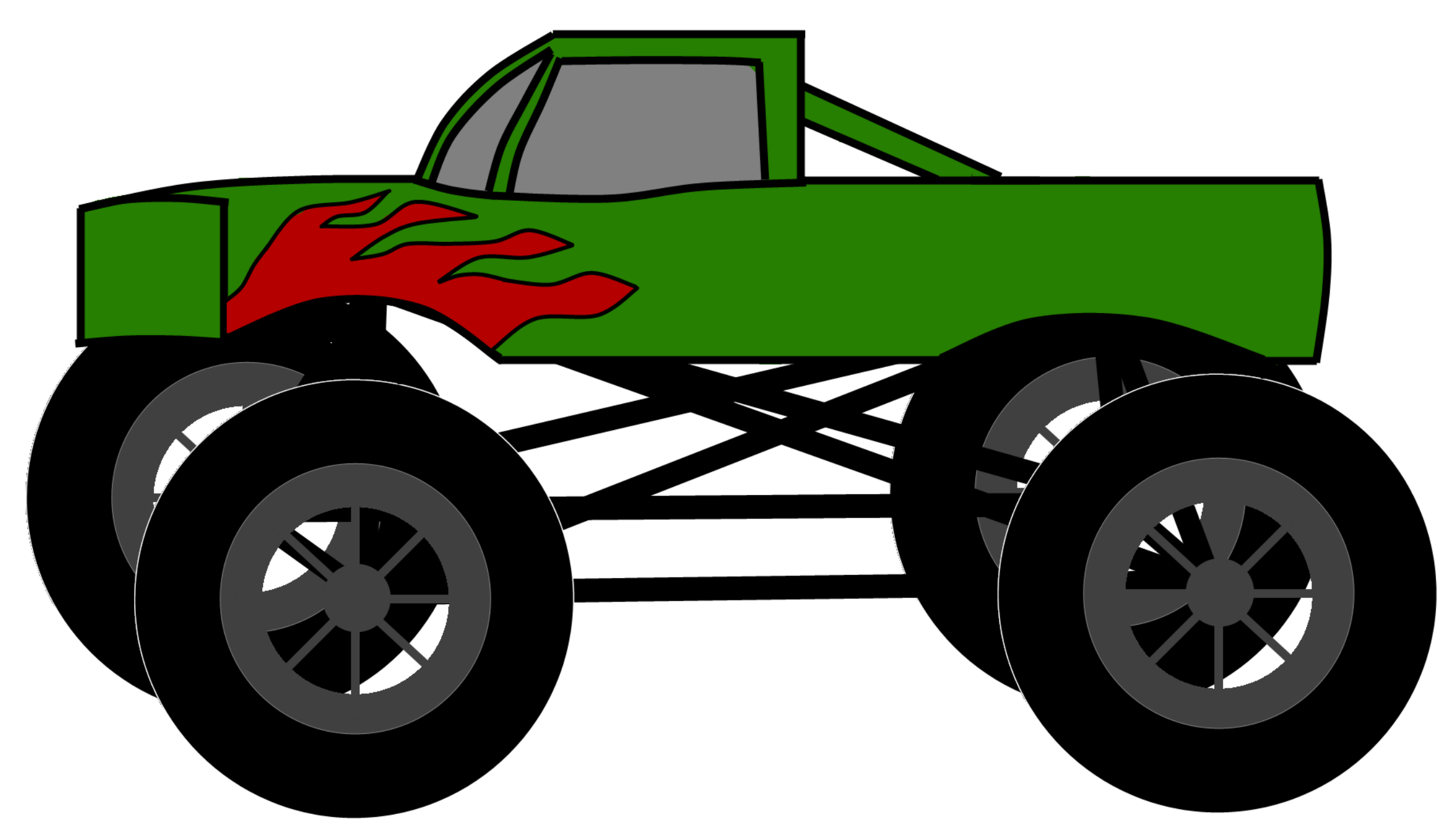 Monster Truck Clip Art-Monster Truck Clip Art-1