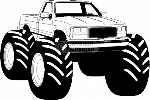 Monster Truck Clip Art-Monster Truck Clip Art-13