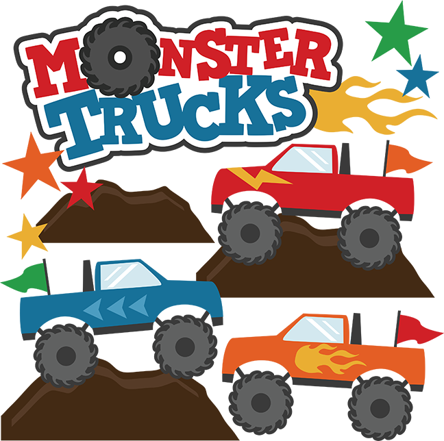 Monster Truck Clip Art-Monster Truck Clip Art-4