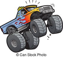 Monster Truck Jumping .-Monster Truck Jumping .-7