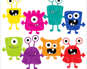 monsters clip art digital aliens clipart-monsters clip art digital aliens clipart - Monsters Digital Clip Art-18