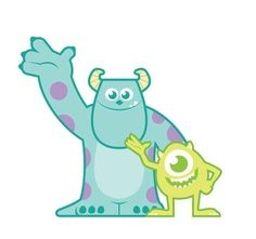monsters inc clip art - Monsters Inc Clip