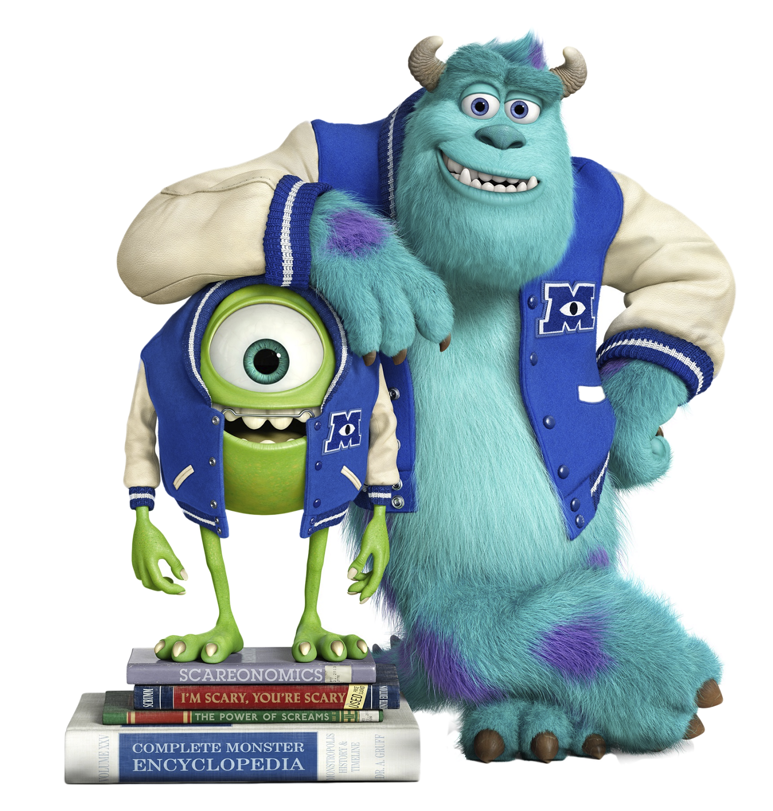 Download PNG image - Monsters University Clipart 592