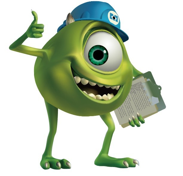 Free Monsters University Mike Illustration Vector - TitanUI