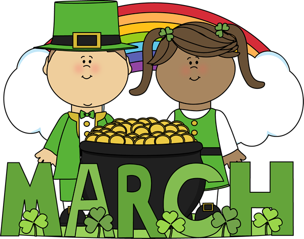 Month of March Saint Patricku0026#39;s Day