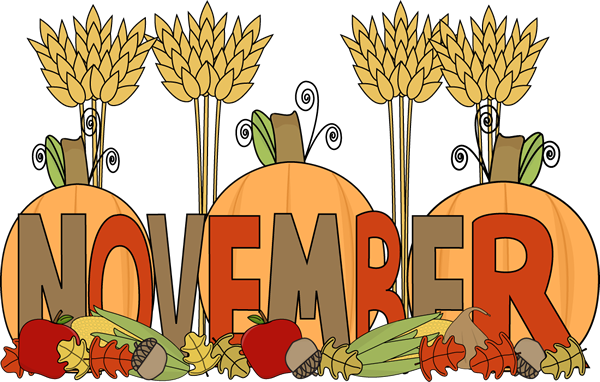 Month Of November Harvest Clip Art Month Of November Harvest Image