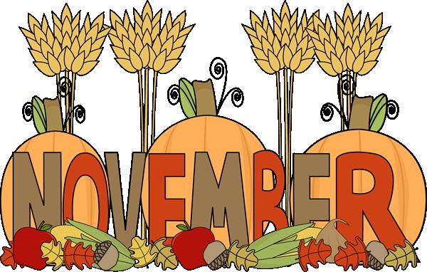 Month Of November Harvest Clip Art Month Of November Harvest Image