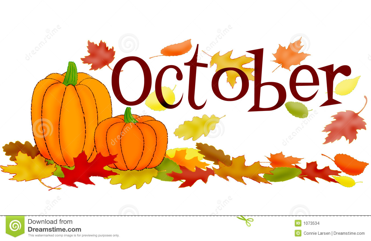 Month Of October Clipart October Scene-Month Of October Clipart October Scene-5