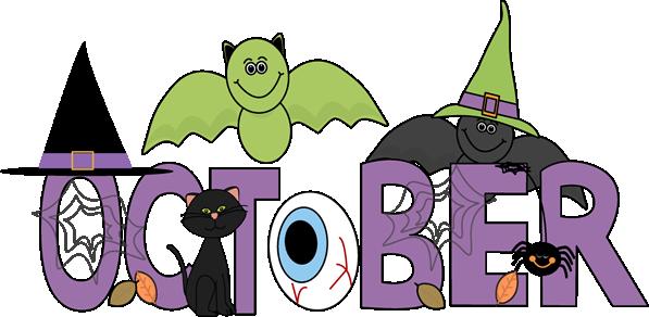 Month of October Halloween