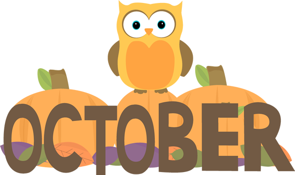 Month Of October Owl Clip Art ..-Month Of October Owl Clip Art ..-9