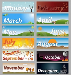 Months Of The Year Clip Art Item 4 Vecto-Months Of The Year Clip Art Item 4 Vector Magz Free Download-15