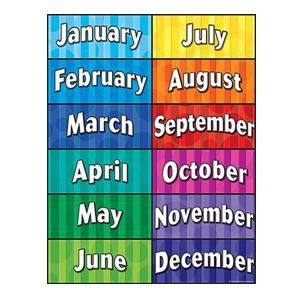 Months Of The Year Clipart Created Resources Charts Ideas Teacher