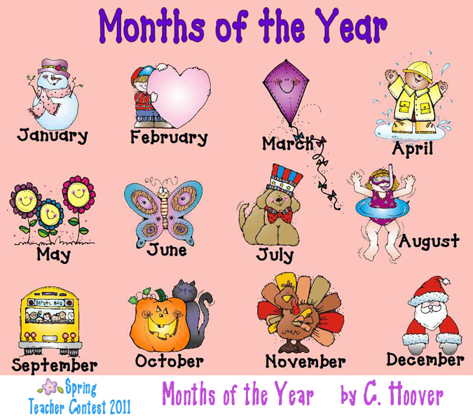 Months Of The Year Clipart-Months Of The Year Clipart-6