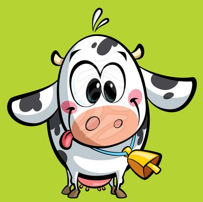 Baby cow clipart - ClipartFes