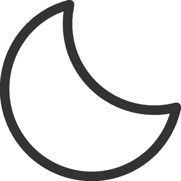 Moon Clip Art Crescent Moon ... Crescent-Moon Clip Art Crescent Moon ... crescent moon clipart% .-16