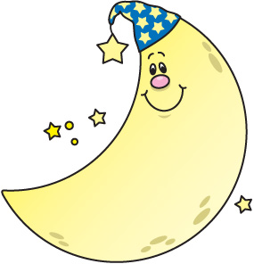 Moon clip art free clipart images 2