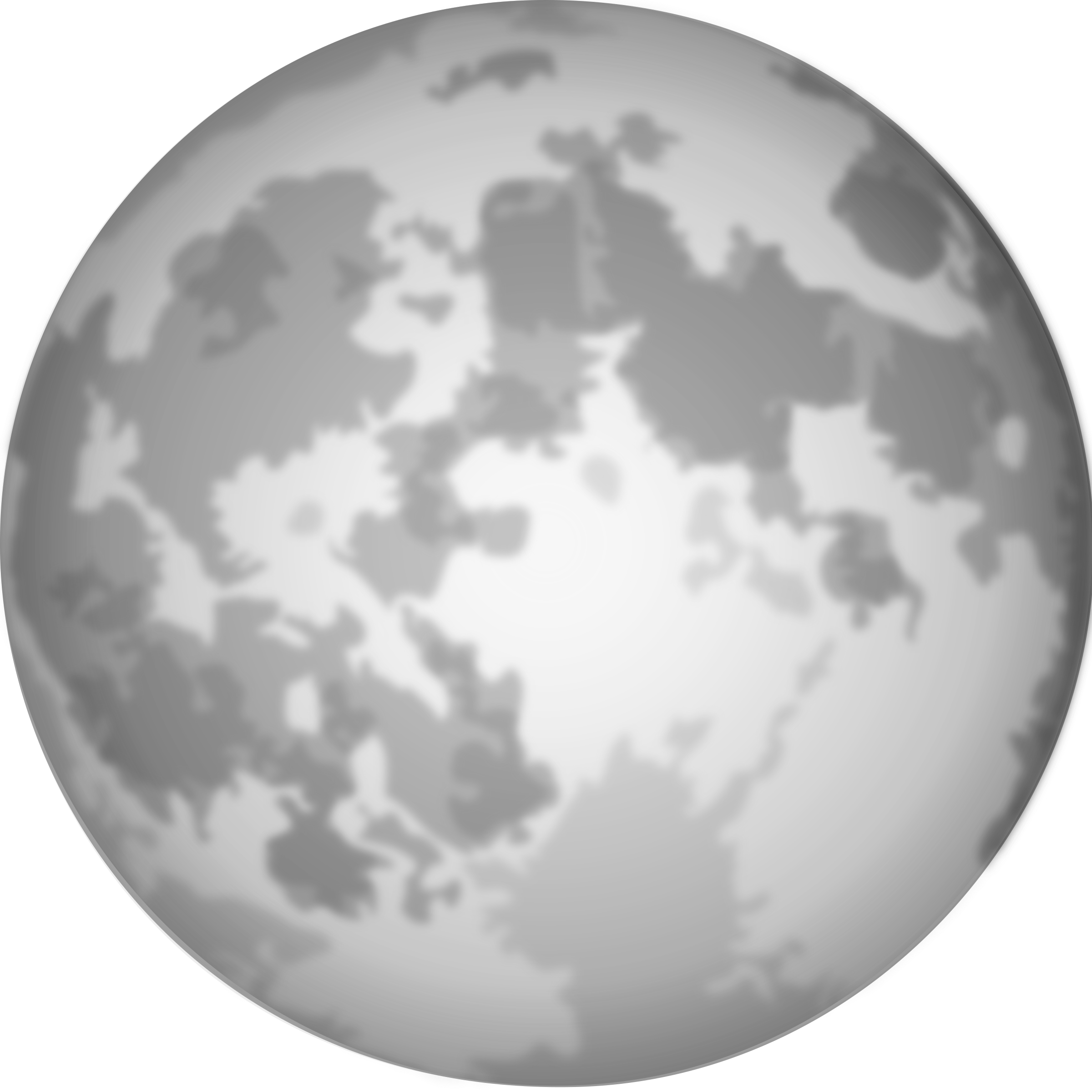 Moon Transparent Clipart Halloween Bright Full Moon