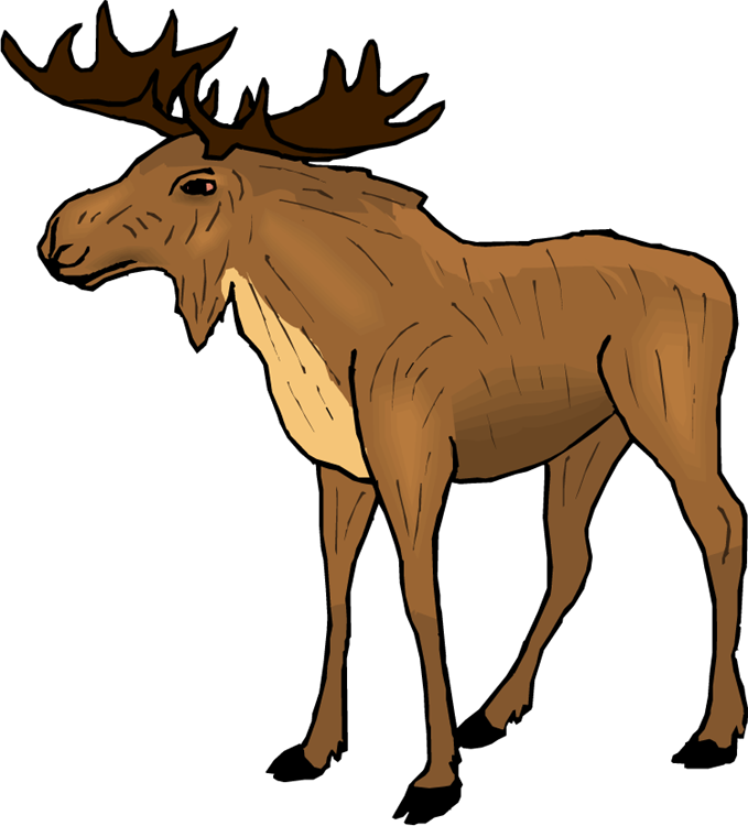 Moose Clip Art-Moose Clip Art-7