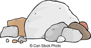 ... More Boulders - A pile of different boulders and rocks.